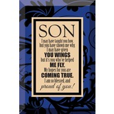 Son, I'm Proud Of You - Glass Plaque