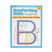 Handwriting Skills Simplified: Improving Manuscript Writing,  64 Pages, Paperback, Grade 2