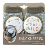 Demdaco, Born To Be Wild Easy Kneezies, Cotton and Polyester, 3 1/4 x 5 1/4 inches