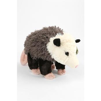 Wild Republic, Cuddlekins Opossum Stuffed Animal, Gray, 12 inches