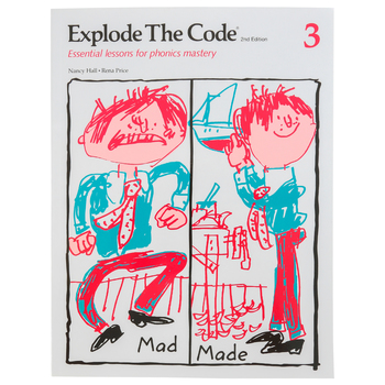 Educators Publishing Service, Explode the Code Book 3, 2nd Edition, Grades 1-3