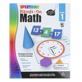 Carson Dellosa, Spectrum Hands-On Math Activity Workbook, Grade 1, 96 Pages, Ages 6-7
