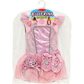 Melissa & Doug, Ballerina Costume Set, Ages 3 to 6 Years Old, 5 Pieces