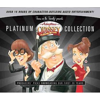 Adventures in Odyssey Platinum Collection, by Tyndale, 12 CD Set