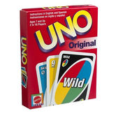 Mattel, Uno Card Game, Ages 7 Years and Older, 2 or More Players