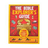 The Bible Explorer's Guide: 1,000 Amazing Facts And Photos, by Nancy I. Sanders, Hardcover