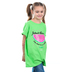 Kerusso, Jeremiah 1:5, Jesus Thinks I'm One In a Melon, Kid's Short Sleeve T-Shirt, Lime, 3T