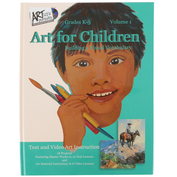 ARTistic Pursuits, Volume 1 Art For Children, Hardcover Book and Video Set, 18 Lessons, Grades K-3