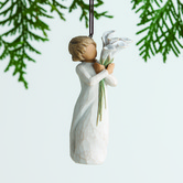 Willow Tree, Beautiful Wishes Figurine Ornament, Resin, 4 1/2 inches
