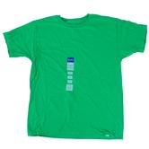 Gildan, Short Sleeve T-Shirt, Irish Green, Youth Extra Small - Large, Pre-Shrunk Cotton, Youth XS-L