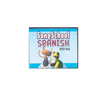 Classical Academic Press, Song School Spanish, DVD Set, Grades 1-3