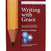 Christian Liberty Press, Writing With Grace, Book 3, 2nd Ed, Paperback, 60 Pages, Grade 3