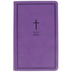 NKJV Personal Size Giant Print Reference Bible, Imitation Leather, Purple