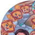 He Loves Me, Daniel in the Lion's Den Plate, Melamine, 8 inches