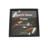 Green Tree Gallery, Single Record Album Frame, 12 1/4 x 12 1/4 inches, Black