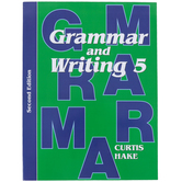 Saxon Grammar and Writing Student Textbook, Grade 5, 112 Lessons, Curtis Hake, 631 Pages
