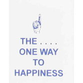 McBeth, The One Way To Happiness Mini Scripture Book, Paperback