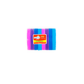 Creative Art, Modeling Clay, Assorted Colors, 1 pound