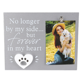 Youngs, Inc., No Longer By My Side Pet Photo Clip Frame, Holds 4 x 6 inch Photo, 10 x 5 inches