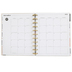 MAMBI The Happy Planner Fancy Floral, 12-Month Dated, Customizable, Gold Foil Accents, 8.5 x 11 Inch