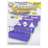 Carson-Dellosa, Helping Students Understand Geometry Worktext, Reproducible, 128 Pages, Grades 7-12
