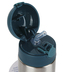 Stephen Joseph, Dinosaur Water Bottle, Stainless Steel, Blue & Silver, 11.8 ounces