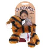 Aurora, Shoulderkins, Taylor the Tiger Stuffed Animal, Orange & Black, 6 inches