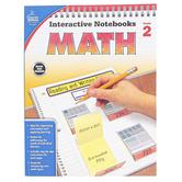 Carson-Dellosa, Interactive Notebooks Math Resource Book, Reproducible Paperback, 96 Pages, Grade 2