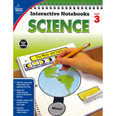 Carson-Dellosa, Interactive Notebook: Science, Grade 3