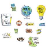 Carson Dellosa, Playful Classroom Reminders Mini Bulletin Board Set, Multi-Colored, 17 Pieces