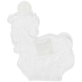 Horse Sand Bottle with Lid, Clear