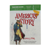 Master Books, America's Story Volume 1: Teacher's Guide, by Angela O'Dell, Grades 3-6