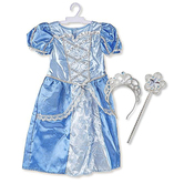 Melissa & Doug, Royal Princess Role Play Costume Set, 3 Pieces, Ages 3 to 6 Years Old