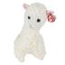 Ty Beanie Boos, Lily the Llama Stuffed Animal, Cream, 13 inches