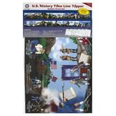 Carson-Dellosa, U.S History Time Line Topper Bulletin Board Set, 8 Pieces