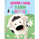 Farm Animals: A Touch and Feel Book, by Francie Darrell & Anna Jones, Board Book