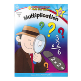 Home Workbooks Gold Star Edition Activity Book: Multiplication, 64 Pages, Grade 3