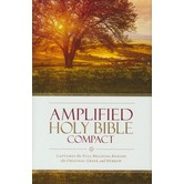 AMP Amplified Bible, Compact, Hardcover