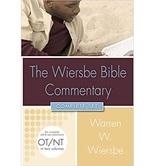 The Wiersbe Bible Commentary: 2 Volume Set, by Warren W. Wiersbe, Hardcover