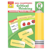Evan-Moor, Skill Sharpeners Critical Thinking Pre-K Activity Book, Paperback, 144 Pages, Grade Pre-K