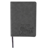 SoulScripts, Psalm 27:1 The Lord Is The Strength Of My Life, Flexcover Journal, 5 x 7 inches, 240 Pages