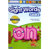 Preschool Prep Company, Meet the Sight Words Level 2 DVD, 34 Minutes, Ages 15 Months to 6 Years