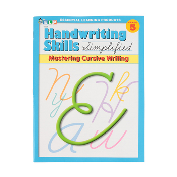 Handwriting Skills Simplified: Mastering Cursive Writing,  64 Pages, Paperback, Grade 5