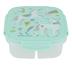 Stephen Joseph, Unicorn Snack Box with Ice Pack, Plastic, 6 x 6 x 2 1/2 inches