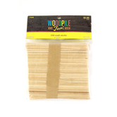 Woodpile Fun, Natural Craft Sticks, 4 1/2 Inches, Set of 150, Ages 4 and up