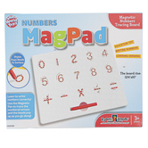 Small World Toys, MagPad Numbers Magnetic Tracing Board, 12.4 x 10 Inches, Ages 3-7
