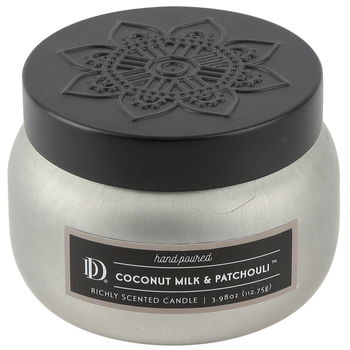 Winfield Home Decor, Coconut Milk and Patchouli Scented Candle, Beige, 4 Ounces