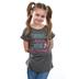 Southern Grace, Twinkle In Her Eye, Children's Short Sleeve T-Shirt, Gray, 3T