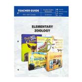 Master Books, Elementary Zoology Teacher Guide, Paperback, Reproducible, Grades 4-6