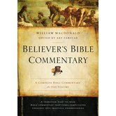 Believer's Bible Commentary: Second Edition, Deluxe Edition, by William MacDonald